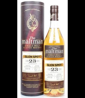 Glen Spey Glen Spey 23 Years Old The Maltman