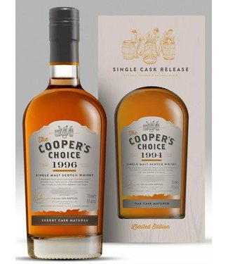 Caol Ila 8 Years Old 2009 Cooper's Choice 46%