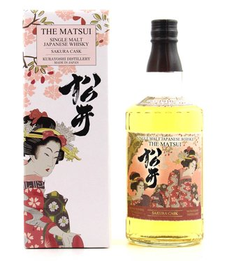 The Matsui Sakura Kurayoshi Distillery