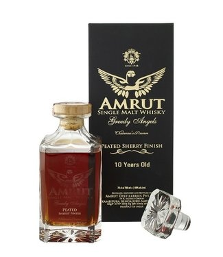 Amrut Greedy Angels 10 Years Old Peated Sherry Finish
