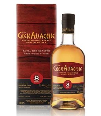 Glenallachie 8 Years Old Koval Rye Wood Finish