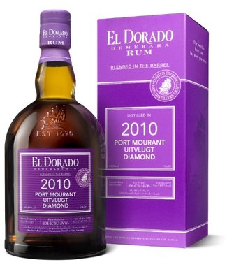 El Dorado Port Murant / Uitvlugt Blended in a Barrel 2010 49,6%