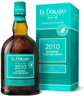 El Dorado Diamond Port Murant Blended in a Barrel 2008 49,1%
