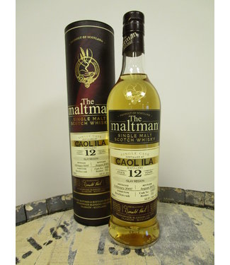 Caol Ila 12 Years Old 2007 The Maltman