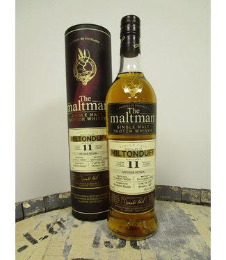 Miltonduff 11 Years Old 2008 The Maltman