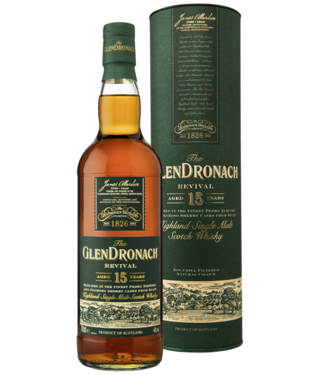 Glendronach 15 Years Old Revival