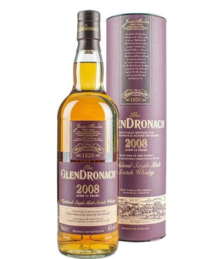 Glendronach 11 Years Old 2008 Bottled for Danish Retailers