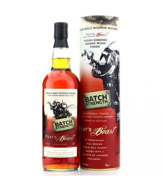 Peat's Beast Pedro Ximinez Cask Batch Strength