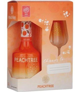 Giftpack Peachtree met Glas - 70 cl