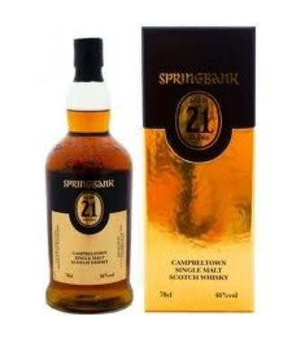 Springbank 21 Years Old 2020 Edition