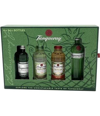 Miniset Tanqueray Gin - 4 x 5 cl
