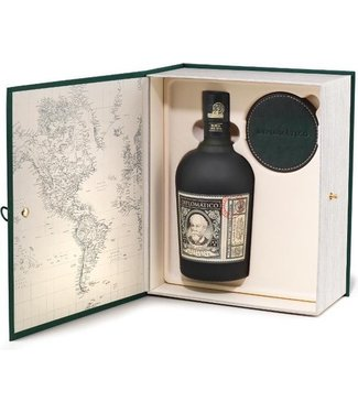 Rum Diplomatico Reserva Exlusiva with 4 Leather Coasters - 70 cl