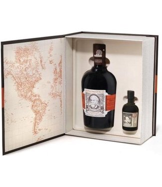 Diplomatico Mantuano Rum With Miniature Exclusivia - 70 cl