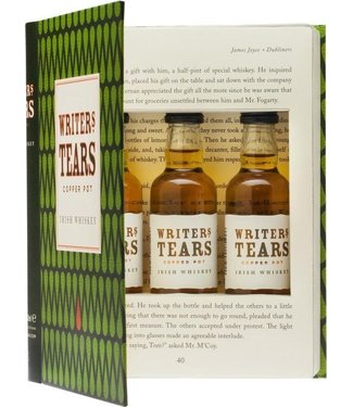 Writer's Tears Writer's Tears Cadeauverpakking Mini Book - 3 x 5 cl