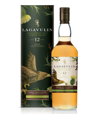 Lagavulin 12 Years Old Cask Strength 2020 Release