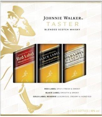 Johnnie Walker Taster Set - 3 x 5 cl