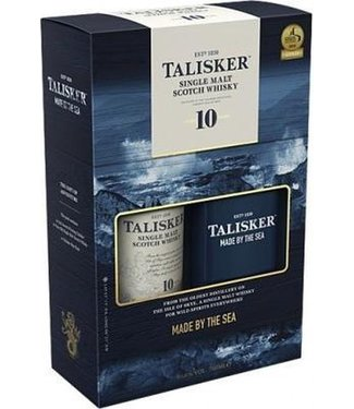 Talisker 10 Years Old With Hip Flask - 70 cl