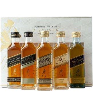 Johnnie Walker Taster Set - 5 x 5 cl