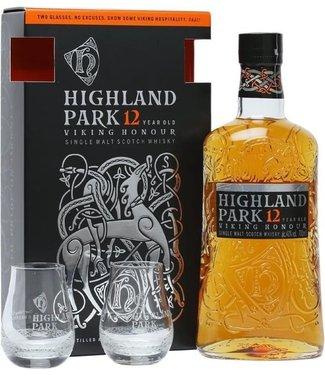 Highland Park 12 Years Old Met 2 Glazen - 70 cl