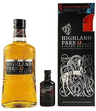 Highland Park 12 Years Old With Miniature Dragon Legend - 70 cl