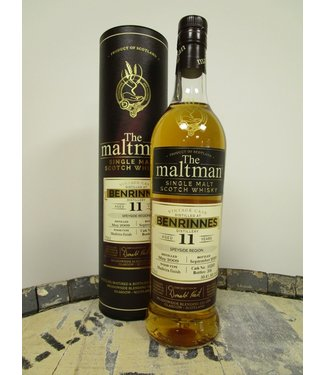 Benrinnes 11 Years Old 2009 The Maltman