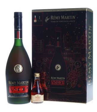 Remy Martin VSOP Gift box with Miniature 1738 - 70 cl