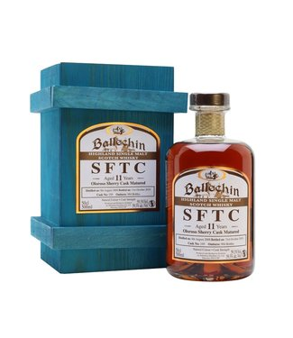 Ballechin Ballechin 10 Years Old Oloroso Sherry Straight From The Cask 59.1%