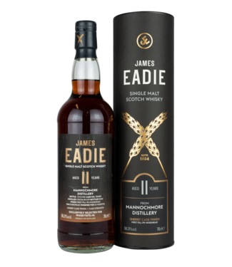 Mannochmore Mannochmore 11 Years Old 2009 James Eadie For Whiskysite.nl 0,70 ltr 56,3%