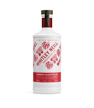 Whitley Neill Whitley Neill Strawberry & Pepper Gin 0,70 ltr 43%