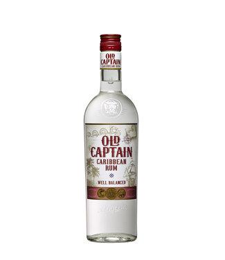Old Captain Old Captain Rum Wit 0,70 ltr 37,5%
