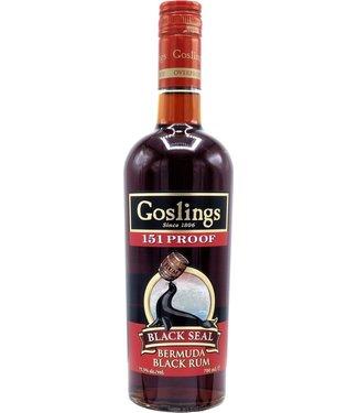 Goslings Goslings Black Seal 151 Proof 0,70 ltr 75,5%