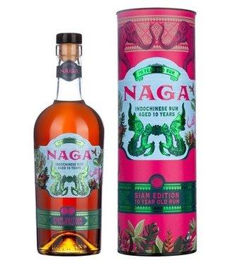 Naga Naga 10 Years Old Indochinese Rum Siam Edition 0,70 ltr 40%
