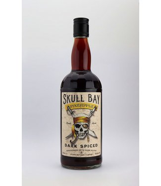 Skull Skull Bay Dark Spiced Rum Pineapple 0,70 ltr 37,5%