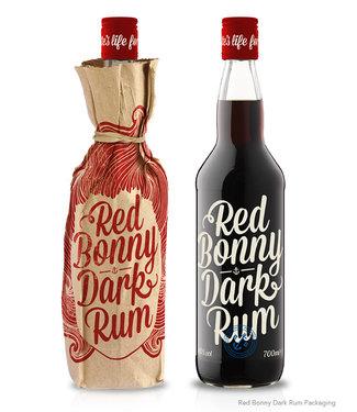 Red Bonny Red Bonny Dark Guyana Rum Bottle In Paper 0,70 ltr 40%