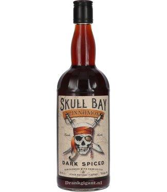 Skull Skull Bay Dark Spiced Rum Cinnamon 0,70 ltr 37,5%