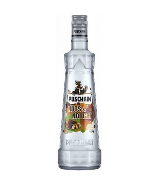 Puschkin Puschkin Vodka Nuts & Nougat 0,70 ltr 17,5%