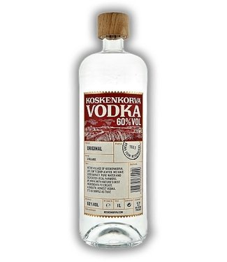 Koskenkorva Koskenkorva Vodka 1,00 ltr 60%