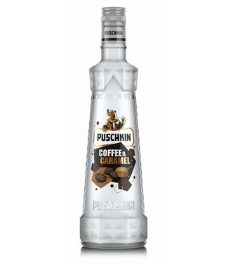 Puschkin Puschkin Coffee Caramel 0,70 ltr 17,5%