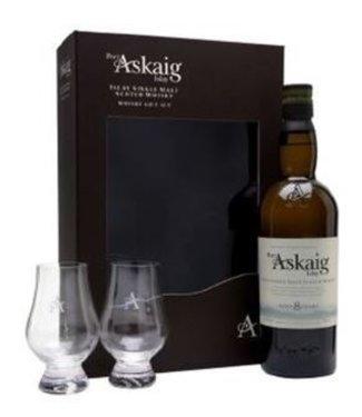Port Askaig Port Askaig 8 Years Old Giftpack With Glasses 0,70 ltr 45%