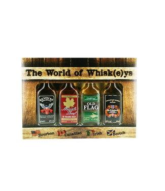 Miniset The World Of Whiskeys 0,16 ltr 40%