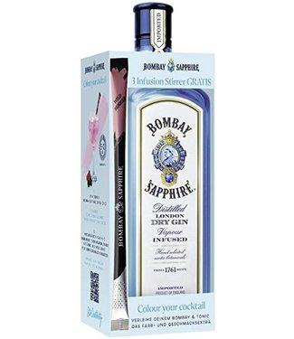 Bombay Bombay Sapphire Stirrer Giftpack 0,70 ltr 40%