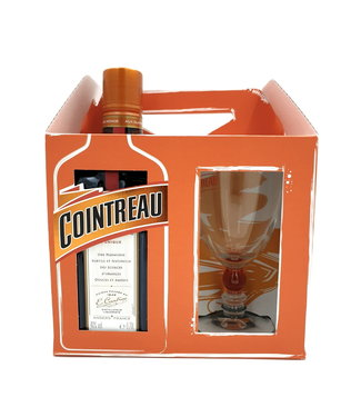Cointreau Cointreau Giftpack Met Glas 0,70 ltr 40%
