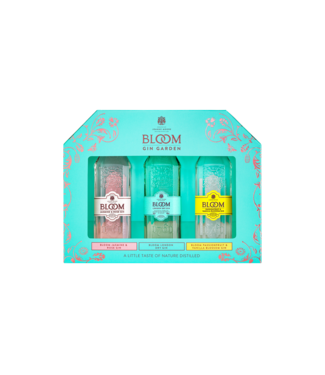 Bloom Bloom Gin Miniset 0,15 ltr 40%