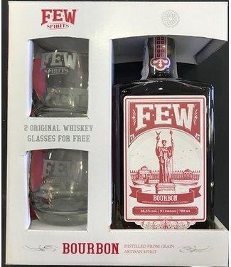 Few Few Bourbon Giftpack 2 Glasses 0,70 ltr 46,5%