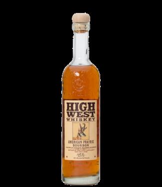 High West High West Prairie Bourbon 0,70 ltr 46%