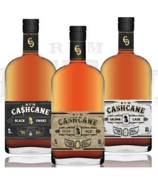 Cashcane Cashcane Rum Black Smoke 0,70 ltr 45%