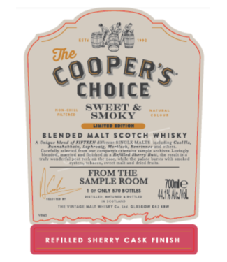 Caol Ila From The Sample Room  Cooper's Choice