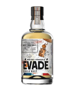Evade Evade Peated French Single Malt 0,70 ltr 40%