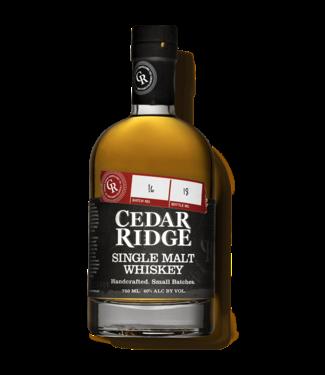Cedar Ridge Cedar Ridge Single Malt 0,70 ltr 40%