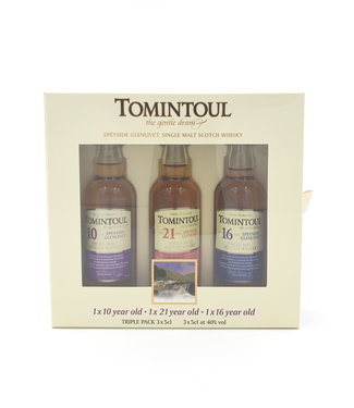 Tomintoul Tomintoul Miniset 10/16/21 Years Old 0,15 ltr 40%